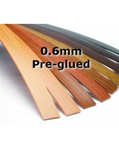 PVC Edging Pre-glued 0.6mm 100m Roll