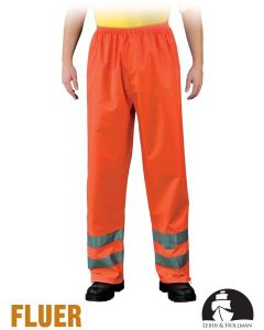 Safety Trousers - High Visibilty Protective Trousers LH-FLUER-T P Orange