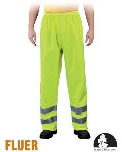 Safety Trousers - High Visibilty Protective Trousers LH-FLUER-T Y Yellow
