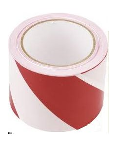 BARIER  tape red/white