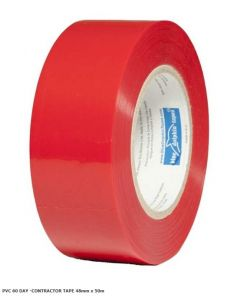 BDT Tape -  60 DAY RED TAPE - CONTRACTOR 48mm x 50m