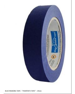 BDT Tape - PAINTER'S BLUE PAPER TAPE - 25mm X 50m