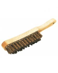 TAL Brush - 4-row Steel Brass Metal Brush 361102