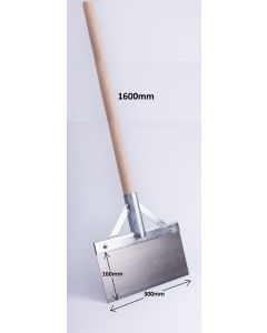 FLOOR ICE SCRAPER 160 x 300mm, lenght 1600 with stick 127831