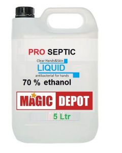 ProSeptic Clear Hands & Skin LIQUID 5Ltr antibacterial for hands