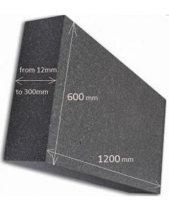 EPS Grey wall insulation boards 1 m2