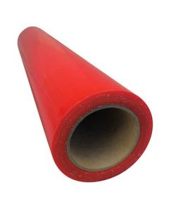 Red Floor Protection Foil 600mm x 100m