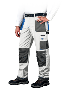 Safety Trousers Formen LH-FMN-T White