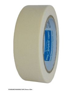BDT Tape - MASKING TAPE ''STANDARD''- 25MM X 50M