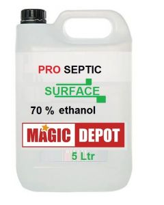 ProSeptic Clear  LIQUID 5Ltr antibacterial for SURFACE