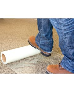 CARPET & FLOOR PROTECTION SELF ADHESIVE FOIL 600mm x 100m